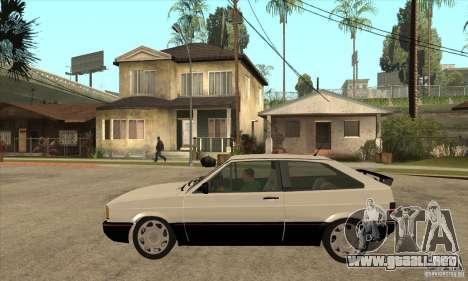 VW Gol GTS 1989 para GTA San Andreas left