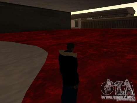 Lava para GTA San Andreas quinta pantalla