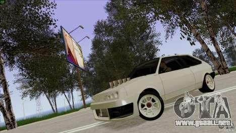 ВАЗ 2108 Sport para GTA San Andreas vista hacia atrás