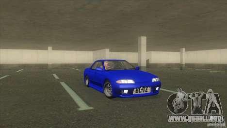 Nissan Skyline R32 GTS-T para la visión correcta GTA San Andreas