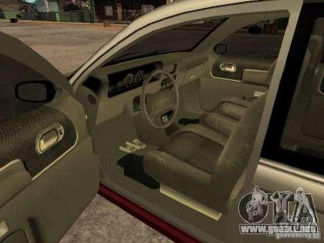 HD Blista para GTA San Andreas vista posterior izquierda