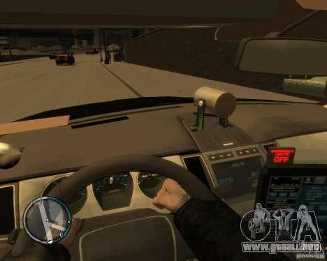 Ford Taurus Police Interceptor Stealth para GTA 4 visión correcta