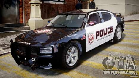 Dodge Charger NYPD Police v1.3 para GTA 4 left