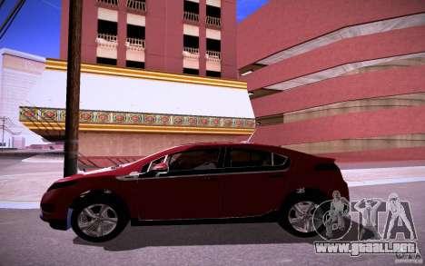 Chevrolet Volt para visión interna GTA San Andreas