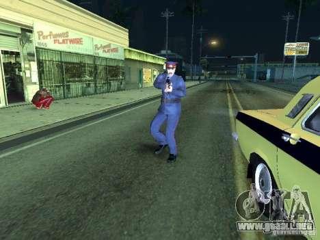 Policía de la URSS para GTA San Andreas sucesivamente de pantalla