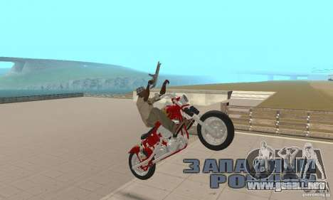 Orange County old school chopper Sunshine para la visión correcta GTA San Andreas
