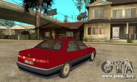 Alfa Romeo 164 para la visión correcta GTA San Andreas