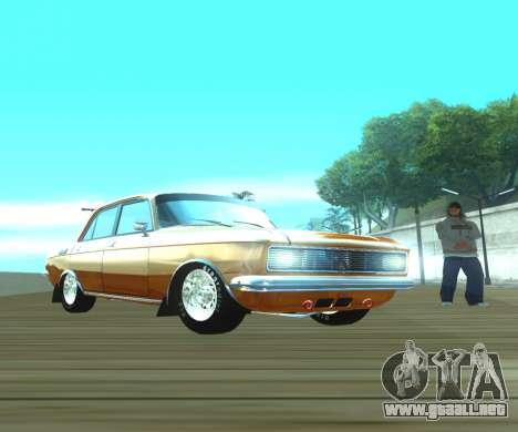Moskvich 2140 Dragster para GTA San Andreas