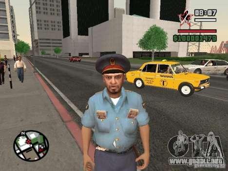 Policías para GTA San Andreas tercera pantalla