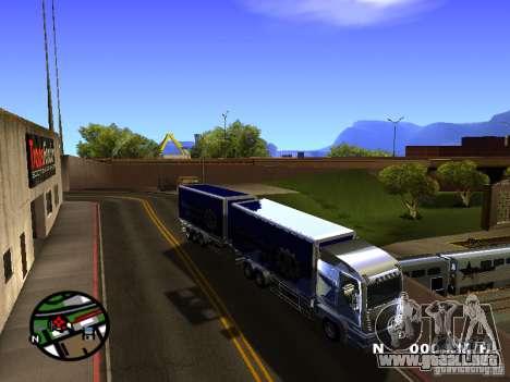 Iveco Stralis para GTA San Andreas left