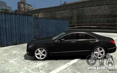 Mercedes-Benz CLS 350 para GTA 4 left