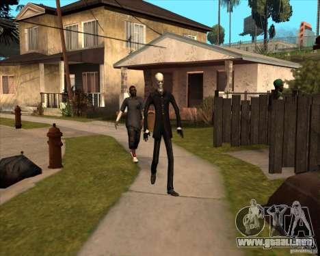 Delgado en gafas oscuras para GTA San Andreas sexta pantalla