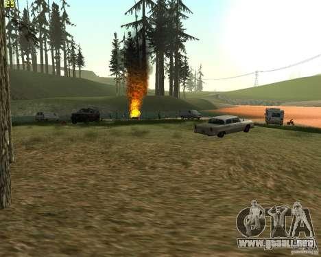 Fiesta de la naturaleza para GTA San Andreas tercera pantalla