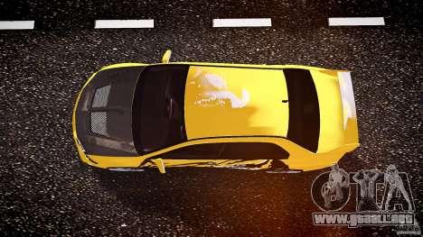 Mitsubishi Lancer Evolution para GTA 4 vista superior