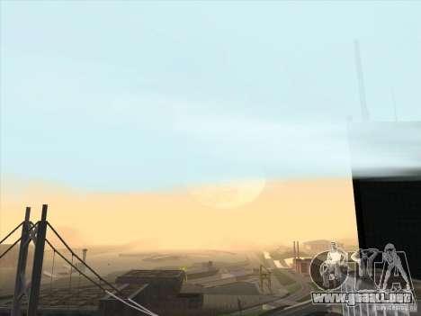 Un realista Timecyc para GTA San Andreas tercera pantalla