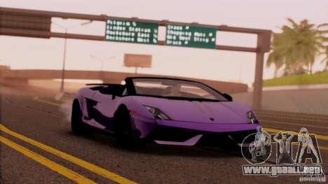 Extreme ENBseries v1.0 para GTA San Andreas segunda pantalla