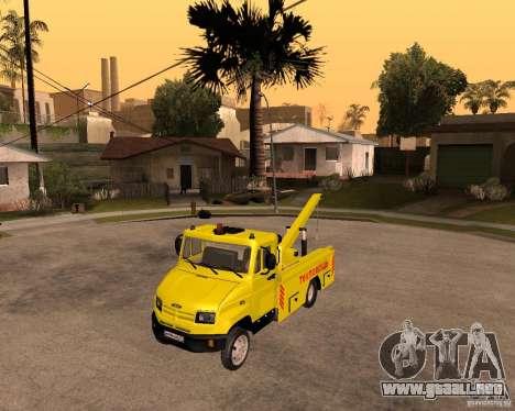 Recolector de ZIL 5301 Toro para GTA San Andreas