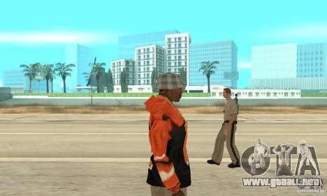 Sudadera con capucha 2 para GTA San Andreas segunda pantalla