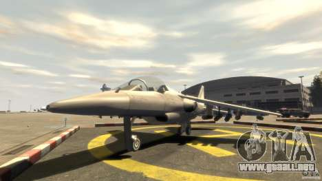 Liberty City Air Force Jet (con equipo) para GTA 4
