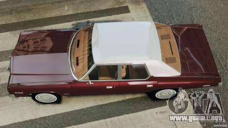 Dodge Monaco 1974 v1.0 para GTA 4 visión correcta