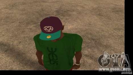 Gorra de béisbol con el logo de la banda HIM para GTA San Andreas segunda pantalla