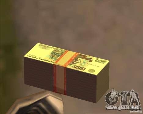 500 rublos. para GTA San Andreas