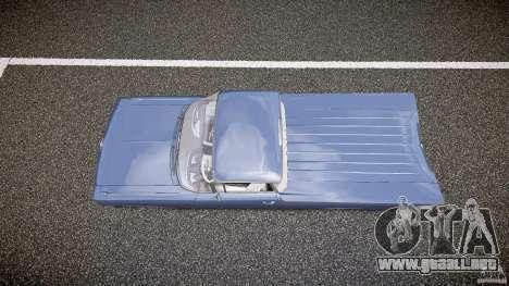 Chevrolet El Camino Custom 1959 para GTA 4 visión correcta