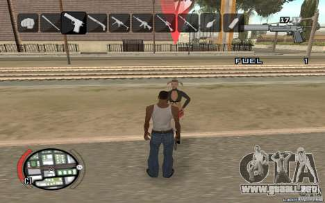 Hide Victim para GTA San Andreas