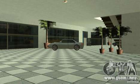 Mercedes Showroom v.1.0 (Autocentre) para GTA San Andreas sexta pantalla
