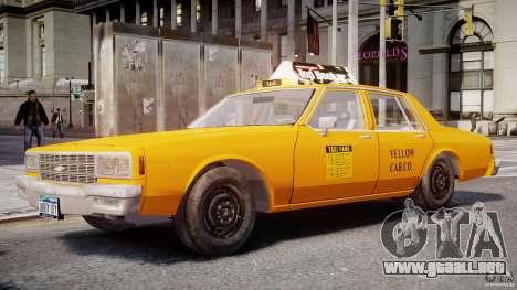 Chevrolet Impala Taxi 1983 para GTA 4
