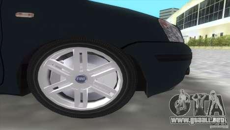 Fiat Panda 2004 para GTA Vice City vista posterior