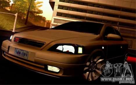Opel Astra G 2.0 1.6V para GTA San Andreas vista hacia atrás