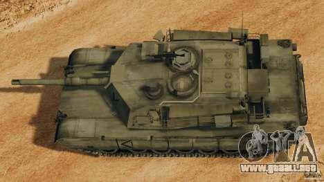 M1A2 Abrams para GTA 4 visión correcta