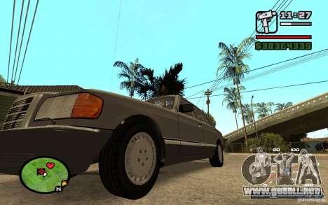 CAMZum beta disponible de GTA 5 para GTA San Andreas segunda pantalla