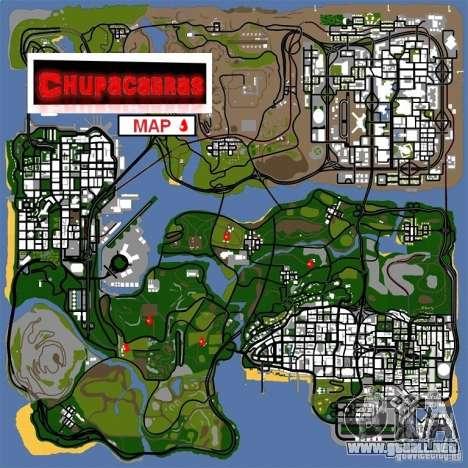 Chupacabra para GTA San Andreas tercera pantalla