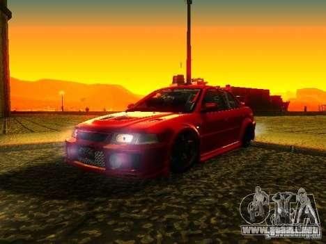 Mitsubishi Lancer Evolution VI GSR 1999 para GTA San Andreas