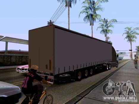 Kenworth T2000 v.2 para vista lateral GTA San Andreas