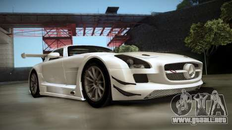 Mercedes-Benz SLS AMG GT3 para GTA San Andreas left