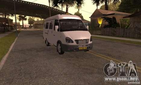 Gacela 32213 Novosibirsk Minibus para GTA San Andreas