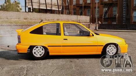 Opel Kadett GL 1.8 1996 para GTA 4 left