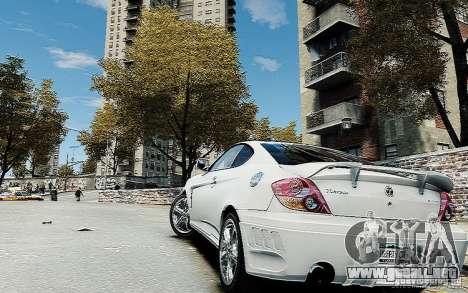 Hyundai Tuscani para GTA 4 left