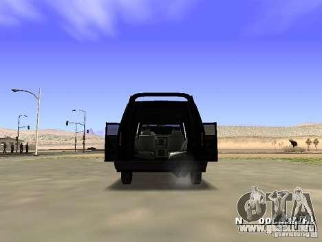 Burrito HD para visión interna GTA San Andreas