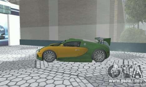 Bugatti Veyron 2005 para la visión correcta GTA San Andreas