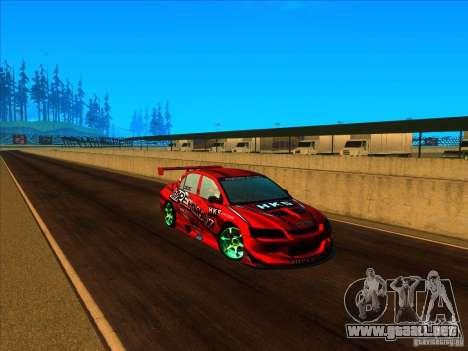 GateWay International para GTA San Andreas quinta pantalla