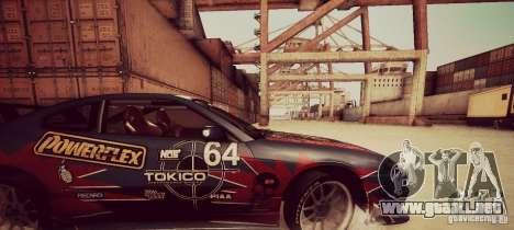 Tokyo Drift map para GTA San Andreas sucesivamente de pantalla