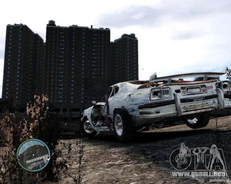 Flatout Shaker IV para GTA 4 visión correcta