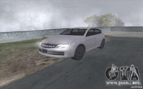 Subaru Impreza-estilo SA para GTA San Andreas