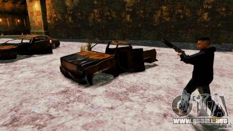 Marshall de Crysis 2 para GTA 4 quinta pantalla