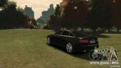 Audi RS6 v.1.1 para GTA 4 left
