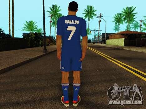 Cristiano Ronaldo v2 para GTA San Andreas sucesivamente de pantalla